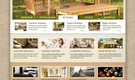 Magento Ecommerce Theme Furniture