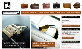 Magento Ecommerce Theme Leather Bags