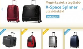 Magento Ecommerce Samsonite Theme