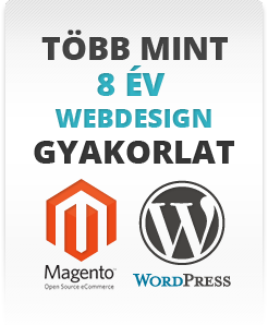Magento webáruház grafikai tervezés