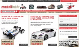 Magento Ecommerce RC Cars Theme