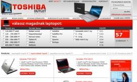 Magento Ecommerce Toshiba Theme