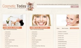 Wordpress Theme Cosmetic Services