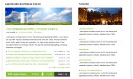 Wordpress Theme Green Economy