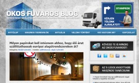 Wordpress Theme International Shipping Blog